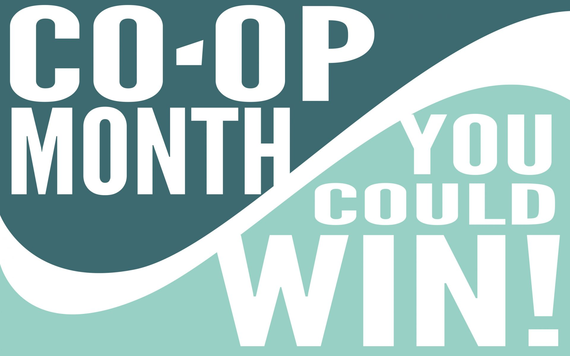 October is National Co-op Month!
